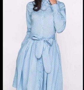 Платье, в цвете ультрамарин