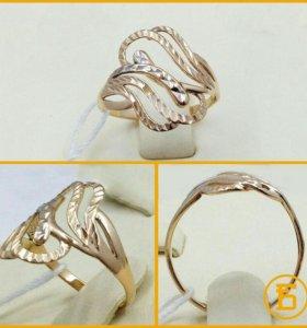 Золотое кольцо 585 пробы. Б332