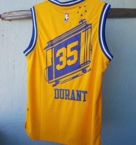 майка  adidas nba jersey durant warriors баскетбол