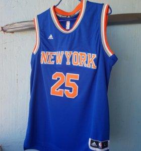 майка нба adidas nba jersey rose newyork баскетбол