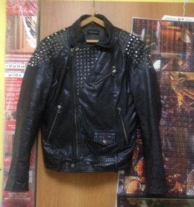 Кожаная куртка - косуха Vericci