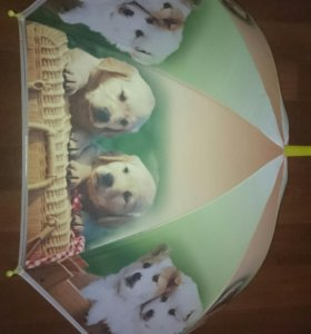 Зонтики в ассортименте для мальчиков и девочек