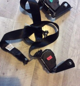 Ремни безопасности ВАЗ2112 задние инерционные 2шт