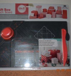Доска для изготовления коробочек