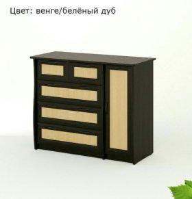 Комод КМ/Р-05 Береза Мебель