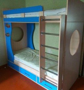 2х ярусная детская кровать