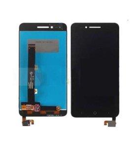 Дисплей ZTE Blade A610 с тачскрином (черный)
