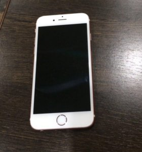 iPhone 6s (розовый), 128 Гбайт.