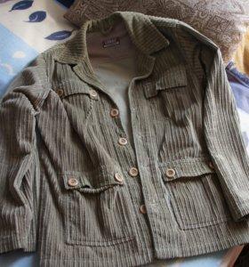 Легкая куртка без подклада