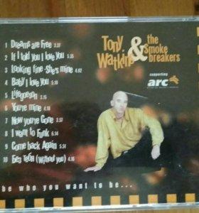 CD Tony Watkins &The Smoke breakers