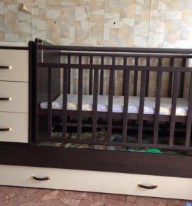 Кровать трансформет