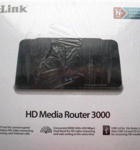 Wi-Fi роутер D-link DIR-857 HD Media Router 3000