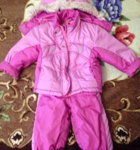 Осений костюм на девочку 1,5-2 года.
