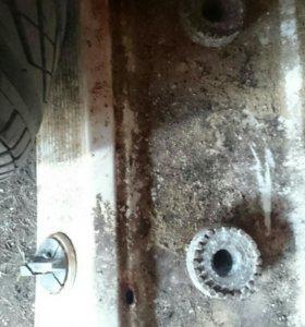 Газовая плитка на две комфорки