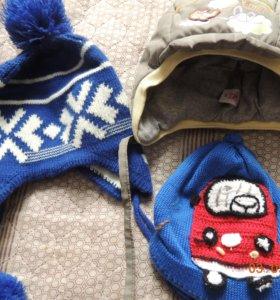 Детские шапки с рождения
