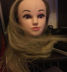 Кукла для тренировок причёсок