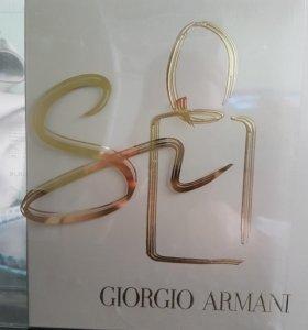 Si Giorgio Armani