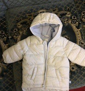 Детская куртка бенетон