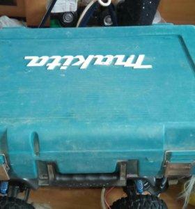 Кейс пластиковый для литиевого шуруповёрта макита