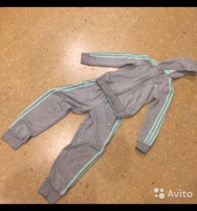 Спортивный костюм ADIDAS для девочки на 130-140