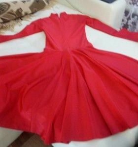 Платье бально-спортивное