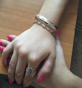 Золотой браслет ( литой)