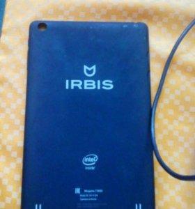 Крышка от планшета и плата IRBIS tw80