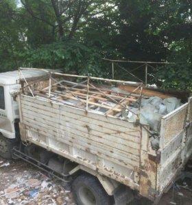 Вывоз строительного мусора и ТБО