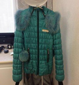 Утеплённая зимняя куртка/пуховик