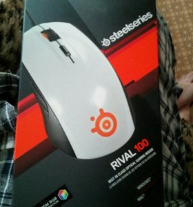 Мышка steelseries rival 100