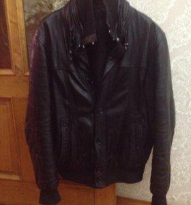 Кожаная куртка Tora