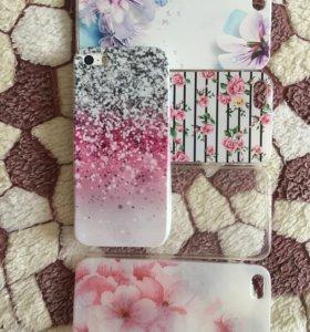 Чехлы на iPhone 5, 5s-se
