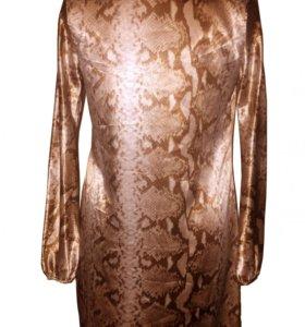 Платье Fusion змеиная расцветка размер 46 M