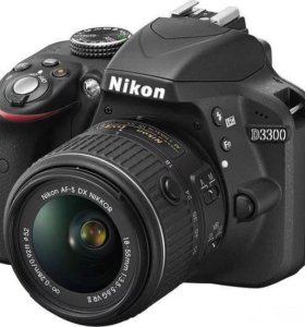 Фотоаппарат Nikon D3300 на запчасти