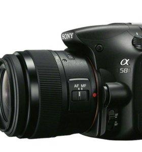 Зеркальный фотоаппарат Sony SLT a58 kit 18-55