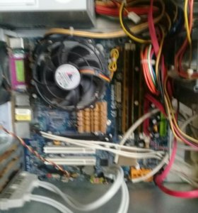 Системный блок интел соре 2×3.4Ghz ddr3 3g оп