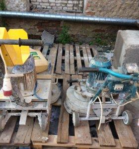 Шлифовочный аппарат для бетона