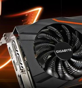 Видеокарта Gigabyte GeForce GTX1050Ti 4Гб