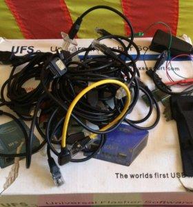 Программатор для Телефонов ufs+hwk +прищепка