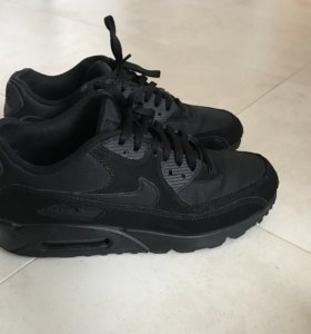 Кроссовки Nike Air Max 90 Leather Black