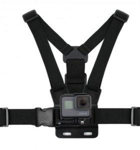 Крепление на грудь для Xiaomi Yi/GoPro/SjCam/Sony