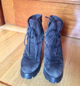 Полусапожки/ботинки на шнуровке