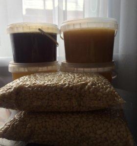 Мёд, кедровый орех, Алтайский мед