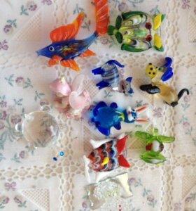 Стеклянные игрушки