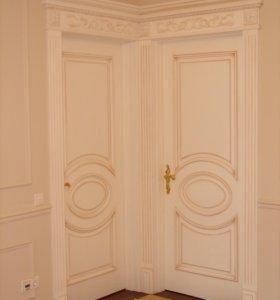 Реставрация и ремонт межкомнатных дверей, мебели