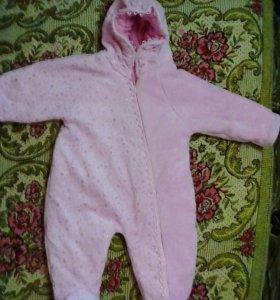 Детский осенне-весенний комбинезон