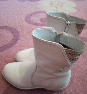 Детские сапоги для девочки