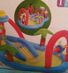 Детский надувной комплекс-бассейн, размер 3м