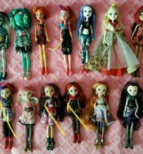 Куклы Ever After High/ Монстер хай/ мебель