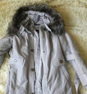 Куртка на кролике 46р